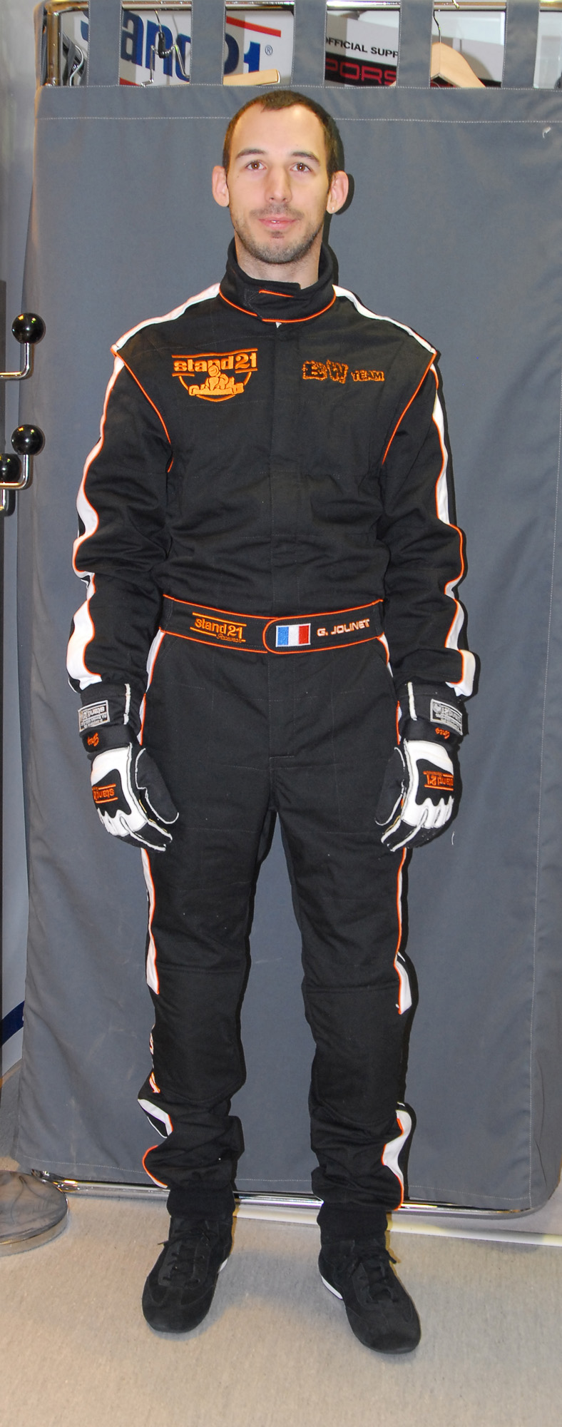 Customized K021 go-kart suit