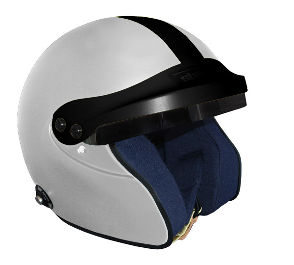 Stock grey Vintage IVOS-Open Face helmet