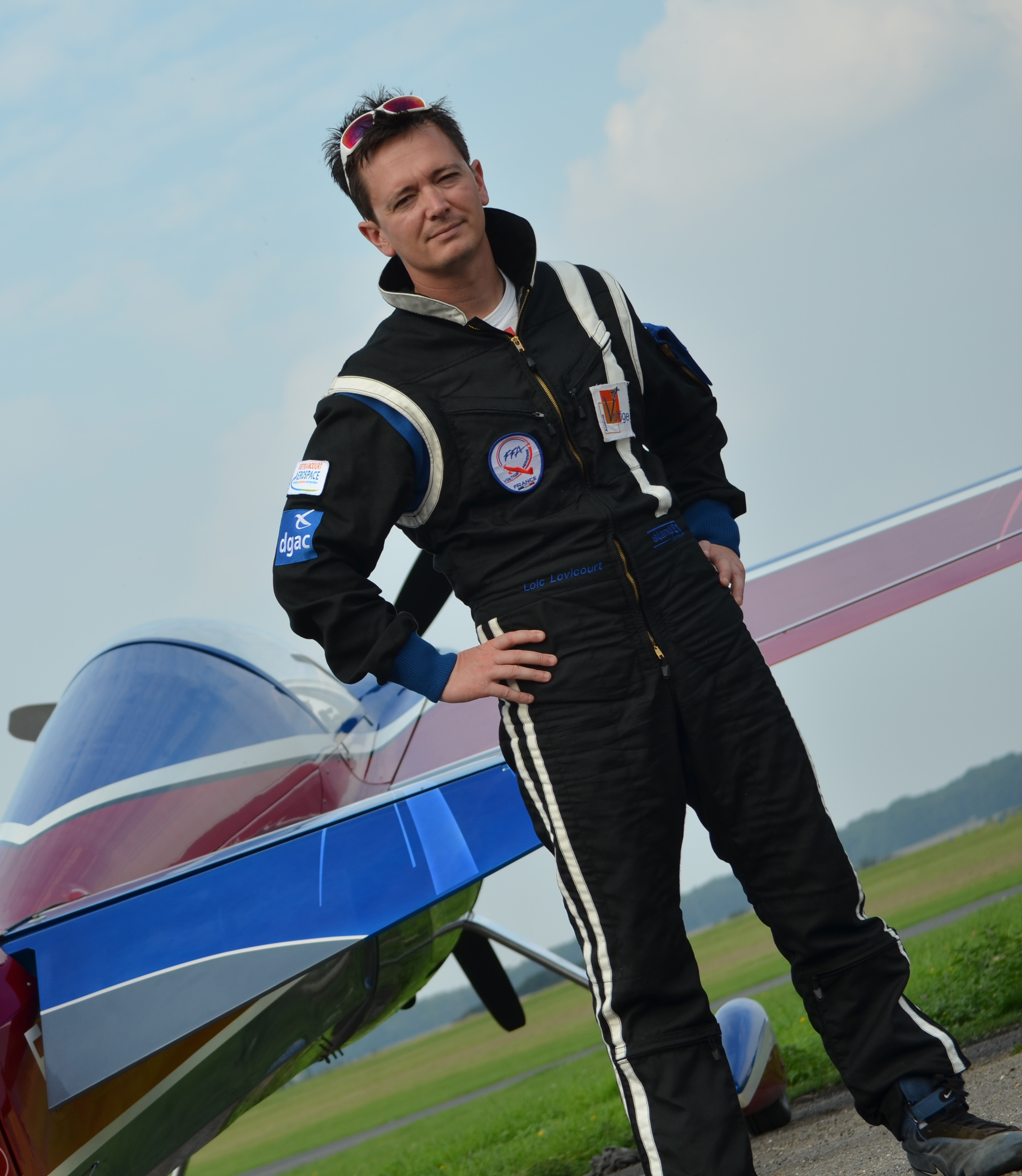Customized aerobatics suit